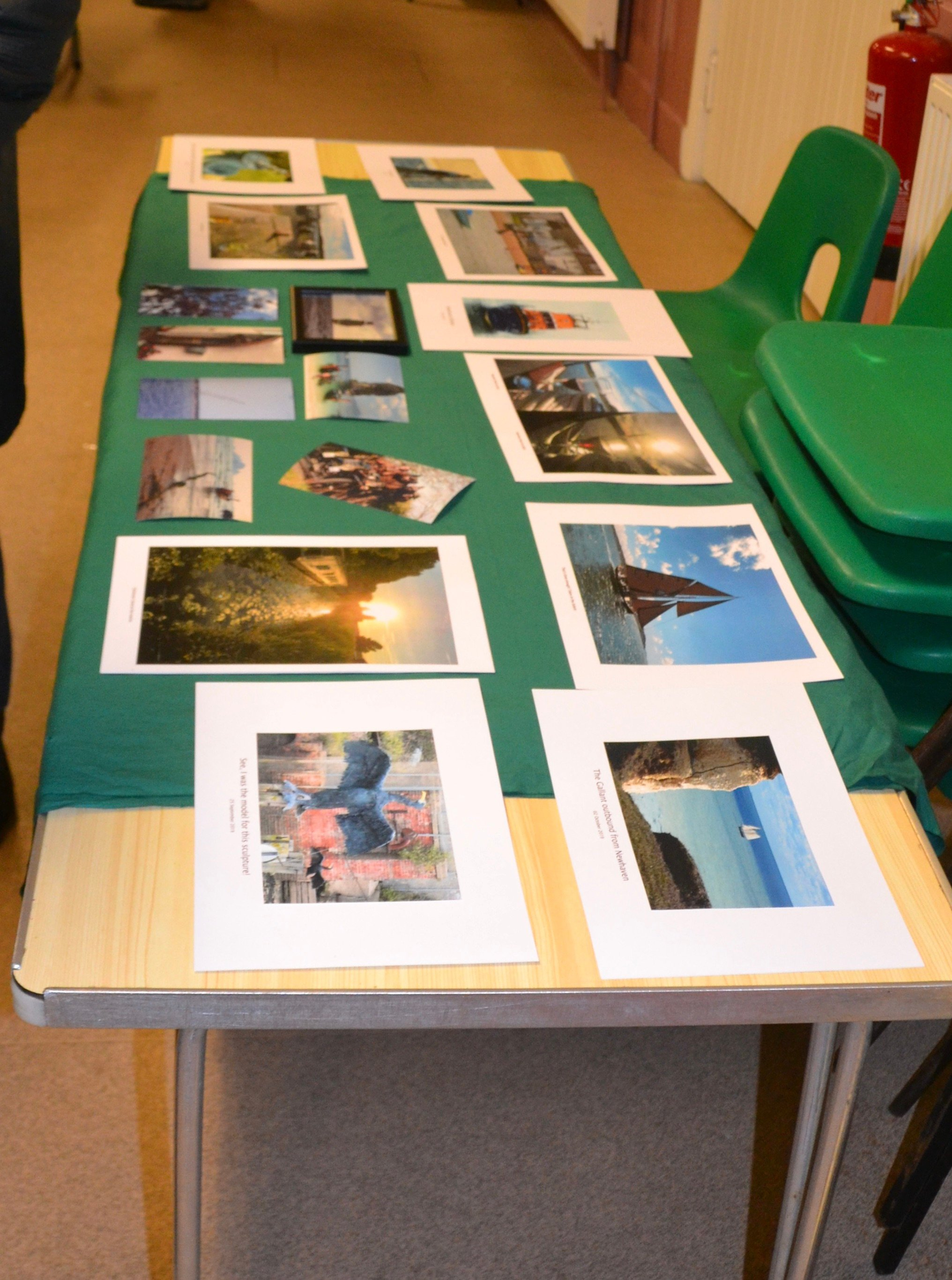 Photo Competition table